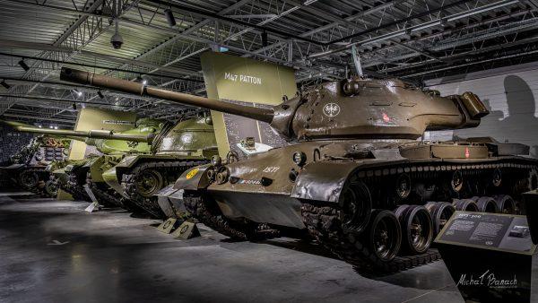 M47 Patton, M60A1 Patton i M48A5 Patton (fot. Michał Banach)