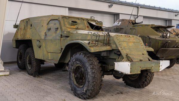 BTR-152 w Muzeum Broni Pancernej w Poznaniu (fot. Michał Banach)