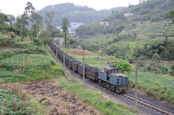 Kolej węglowa Jiayang (fot. MBxd1/Wikimedia Commons)