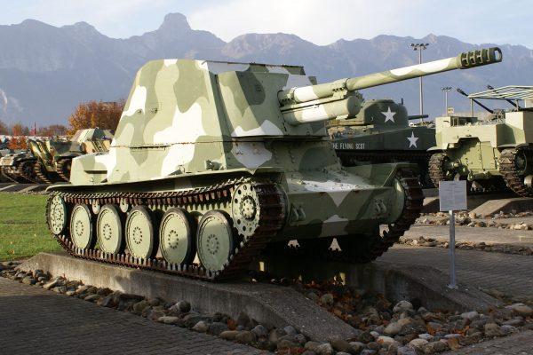 Nahkampfkanone 1 (fot. TheBernFiles/Wikimedia Commons)