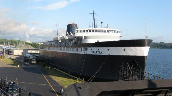 SS Spartan (fot. Bill McChesney)