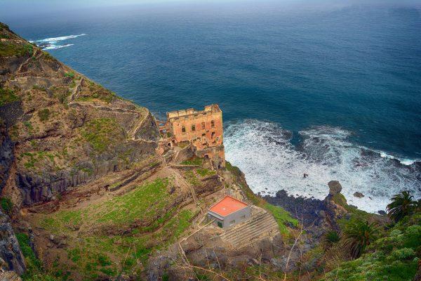 Ruiny Elevador de Aguas de Gordejuela (fot. teneriffaurlaub.es)