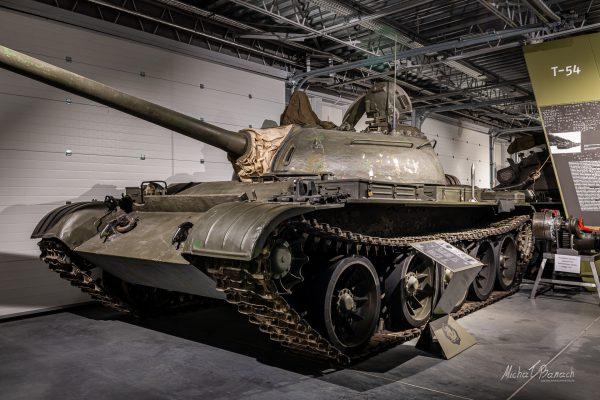 T-54 w Muzeum Broni Pancernej w Poznaniu (fot. Michał Banach)