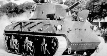 Nahuel DL 43 - argentyński Sherman