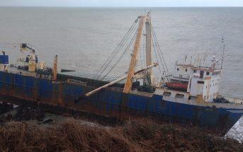 MV Alta - statek widmo u wybrzeży Irlandii