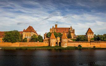 Zamek w Malborku - największy średniowieczny zamek na świecie