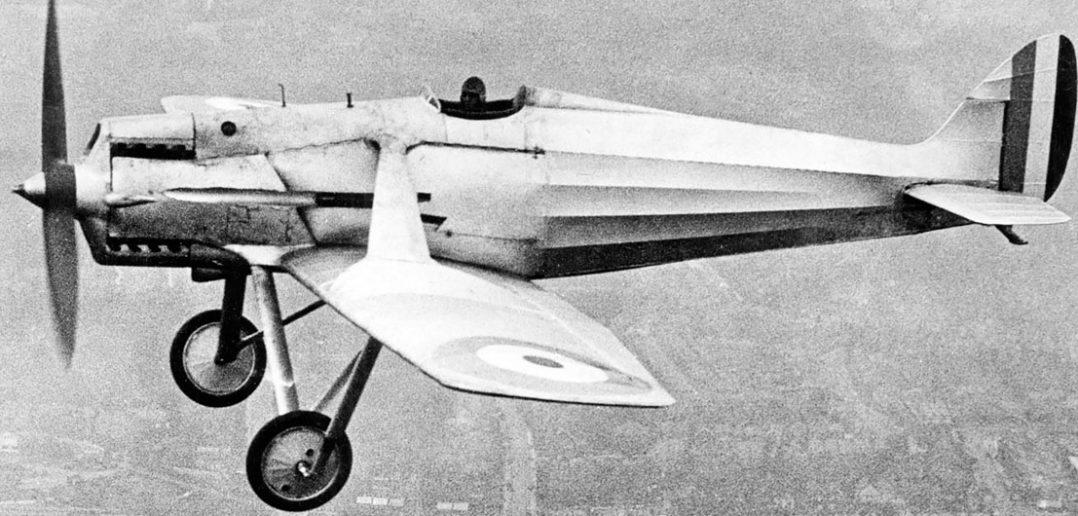 Jedyny w swoim rodzaju de Havilland DH.77