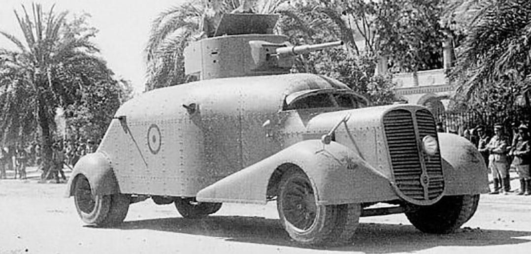 Hispano Suiza MC-36 - tajemniczy samochód pancerny z Hiszpanii