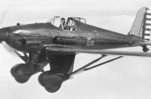 Curtiss XP-31 Swift - nieudany konkurent P-26 Peashooter