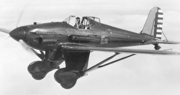 Curtiss XP-31 Swift - nieudany konkurent P-26 Peashooter