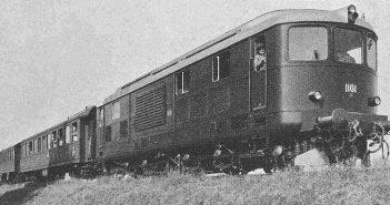 SBB-CFF-FFS Am 4/6 1101 - pierwsza lokomotywa z turbiną gazową