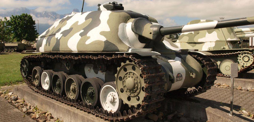 Prototypowe szwajcarskie niszczyciele czołgów Nahkampfkanone 1 i 2