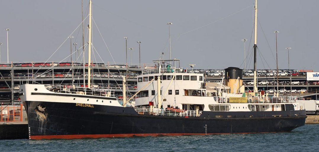 SS Shieldhall - nowe życie statku do brudnej roboty