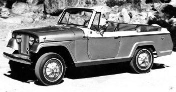 Jeepster Commando - przodek współczesnych Jeepów