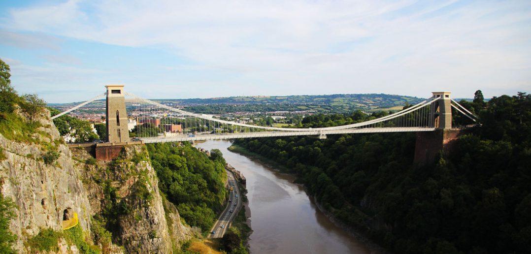Clifton Suspension Bridge - symbol Bristolu
