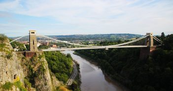 Clifton Suspension Bridge - symbol Bristolu