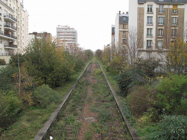 Chemin de fer de Petite Ceinture (fot. Tangopaso/Wikimedia Commons)