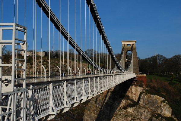 Clifton Suspension Bridge (fot. pixabay.com)