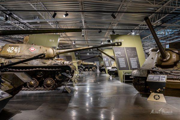 Muzeum Broni Pancernej w Poznaniu (fot. Michał Banach)