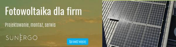 Fotowoltaika dla firm - SunErgo