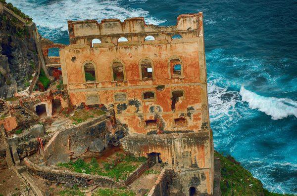 Ruiny Elevador de Aguas de Gordejuela (fot. Rainer88/Wikimedia Commons)