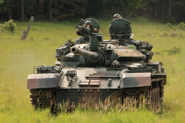 TR-85M1 (fot. 7th Army Joint Multinational Training Command)