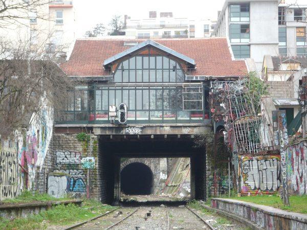 Chemin de fer de Petite Ceinture (fot. R. Charuel)