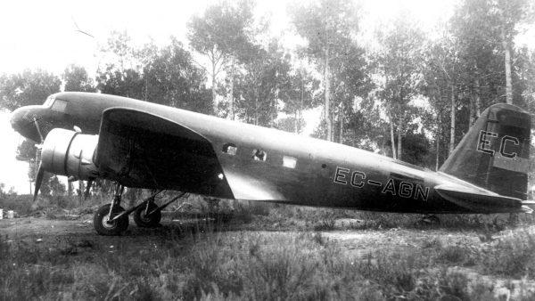 Douglas DC-1 już w Hiszpanii