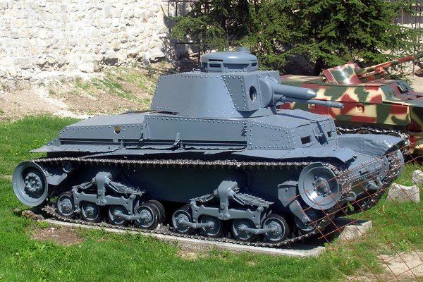 PzKpfw 35(t) (fot. MoRsE/Wikimedia Commons)