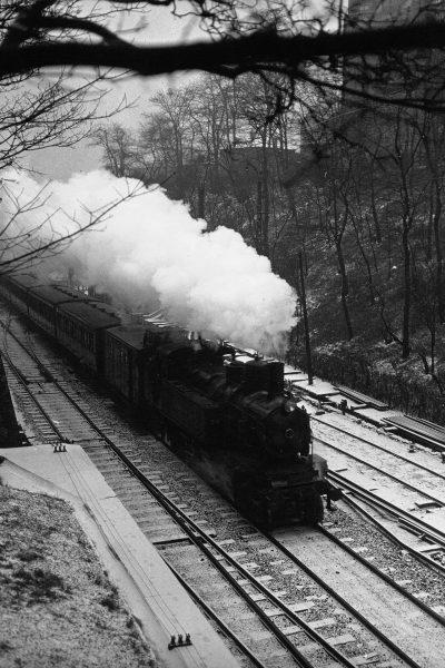 Jeden z ostatnich pociągów pasażerskich na Chemin de fer de Petite Ceinture