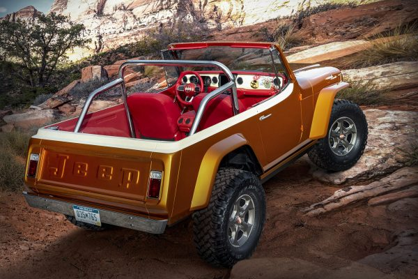 Jeepster Beach Concept (2021) (fot. Jeep)