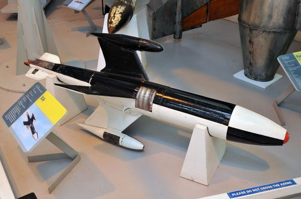 Ruhrstahl X-4 (fot. Arjun Sarup)