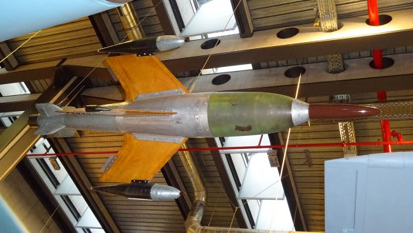 Ruhrstahl X-4 (fot. VSDTB/Wikimedia Commons)