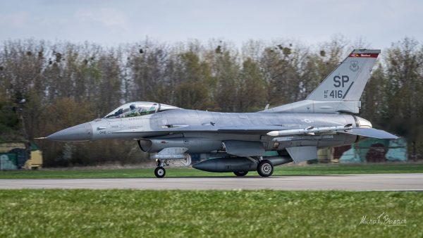 Lockheed Martin F-16 (fot. Michał Banach)