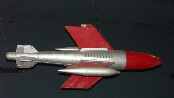 Ruhrstahl X-4 (fot. Jaypee/Wikimedia Commons)