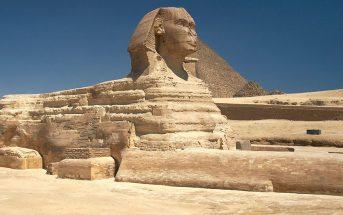 Wielki Sfinks - jeden z symboli Egiptu