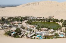 Huacachina - oaza w (prawie) sercu pustyni