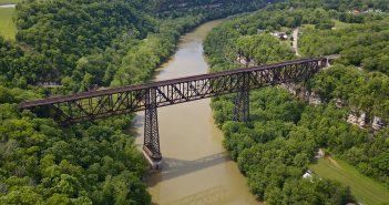 High Bridge of Kentucky - pierwszy most wspornikowy w USA