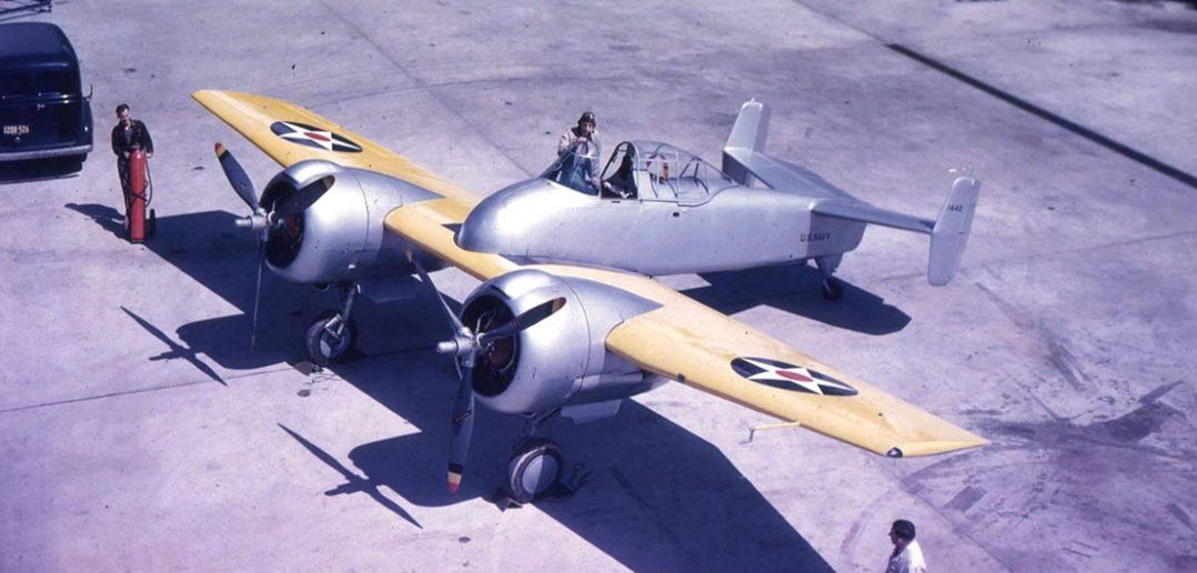 Eksperymentalne myśliwce Grumman XF5F Skyrocket i XP-50