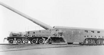 """Amerykańskie działa kolejowe floty 14""""/50 caliber railway gun"""