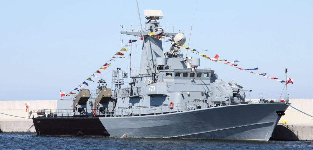 Polskie okręty rakietowe typu Orkan