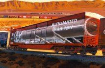 Peacekeeper Rail Garrison - amerykański pociąg z pociskami balistycznymi