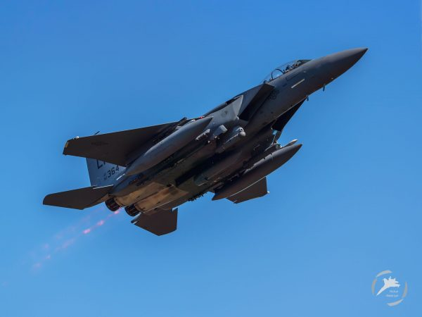 McDonnell Douglas F-15 Eagle (fot. Michał Niemczyk)