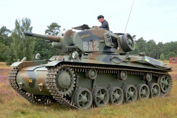 Stridsvagn m/42 (fot. Jorchr/Wikimedia Commons)