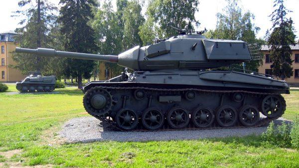 Stridsvagn 74 (fot. Johan Elisson)