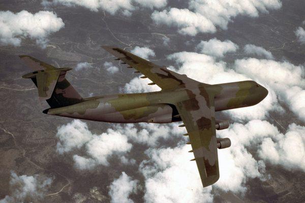 Lockheed C-5 Galaxy (fot. USAF)