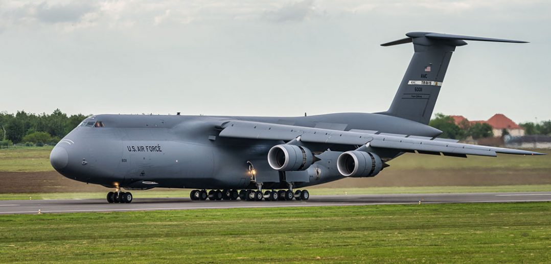 Ciężki samolot transportowy Lockheed C-5 Galaxy