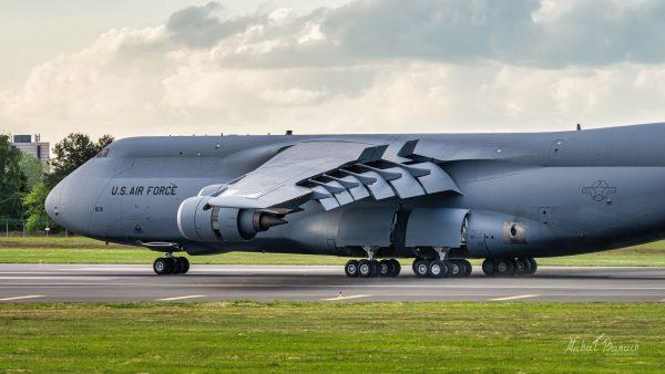 Lockheed C-5M Super Galaxy (fot. Michał Banach)