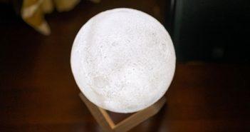 Aurelis Lunar - księżycowa lampa - recenzja